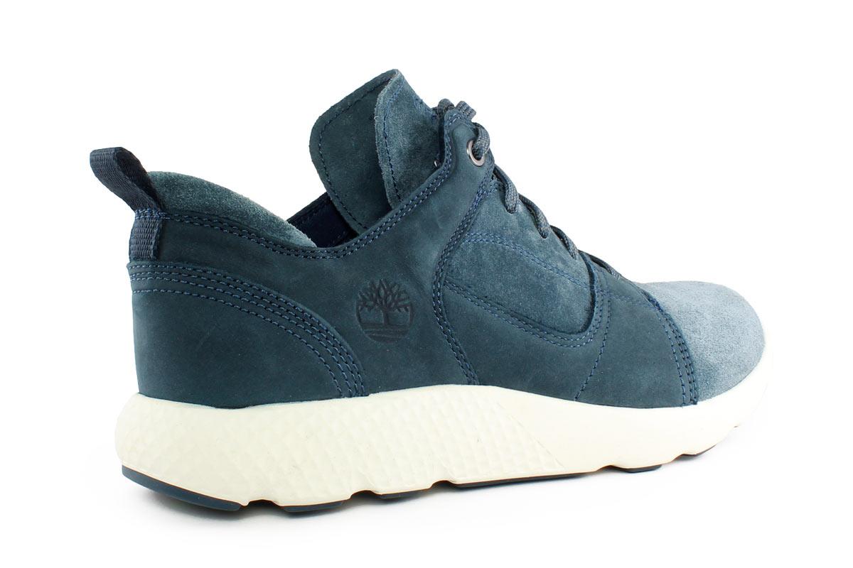 8763c7c6da Timberland Δερμάτινο Ανδρικό Sneaker Μπλε A10BS - Nero Kaidas