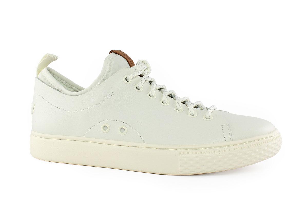 d99205ea6e Ralph Lauren Ανδρικό Δερμάτινο Sneaker Λευκό DUNOVIN - Nero Kaidas