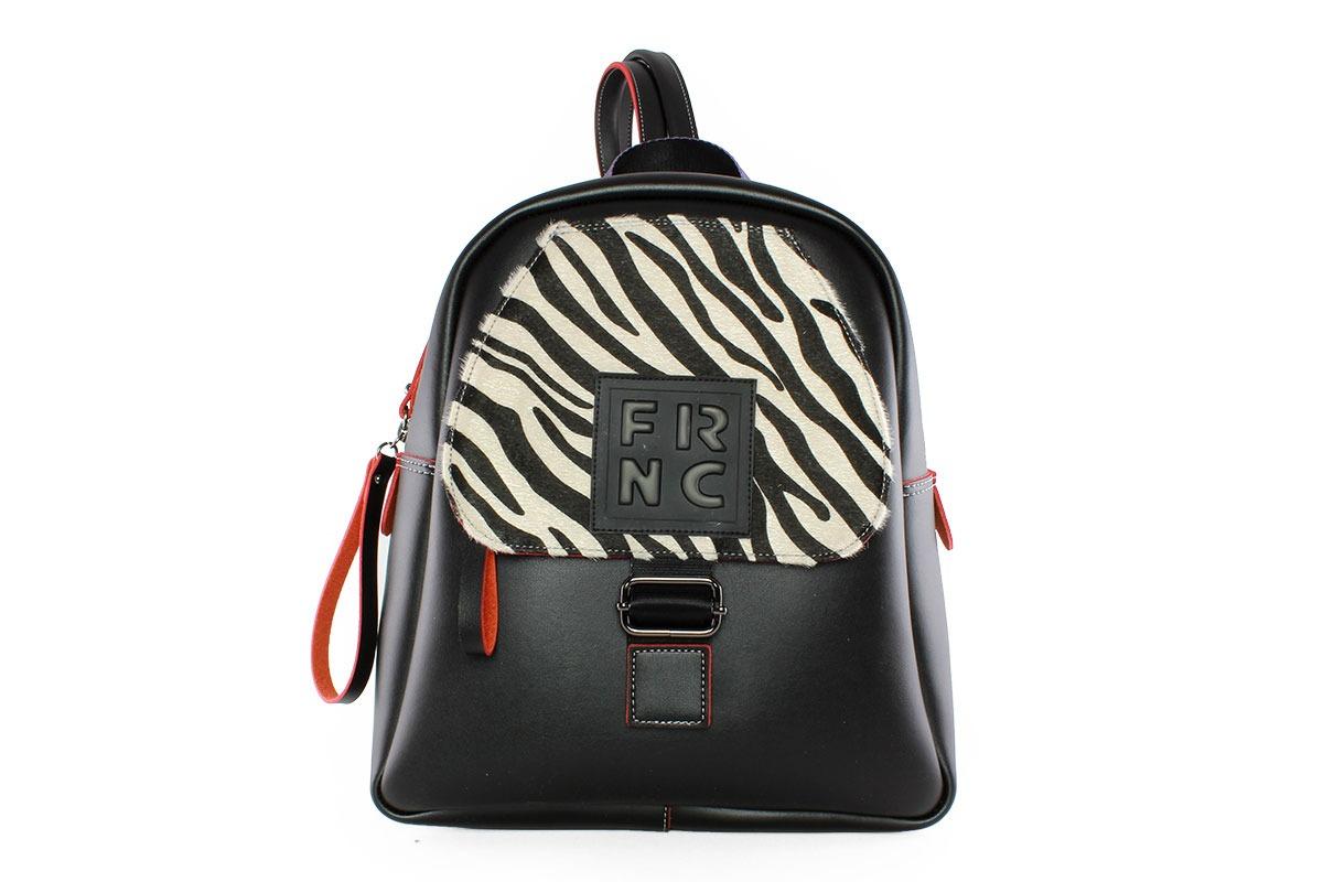 2bab45d981 Frnc Γυναικεία Τσάντα Backpack Μαύρη Animal 1261Z - Nero Kaidas