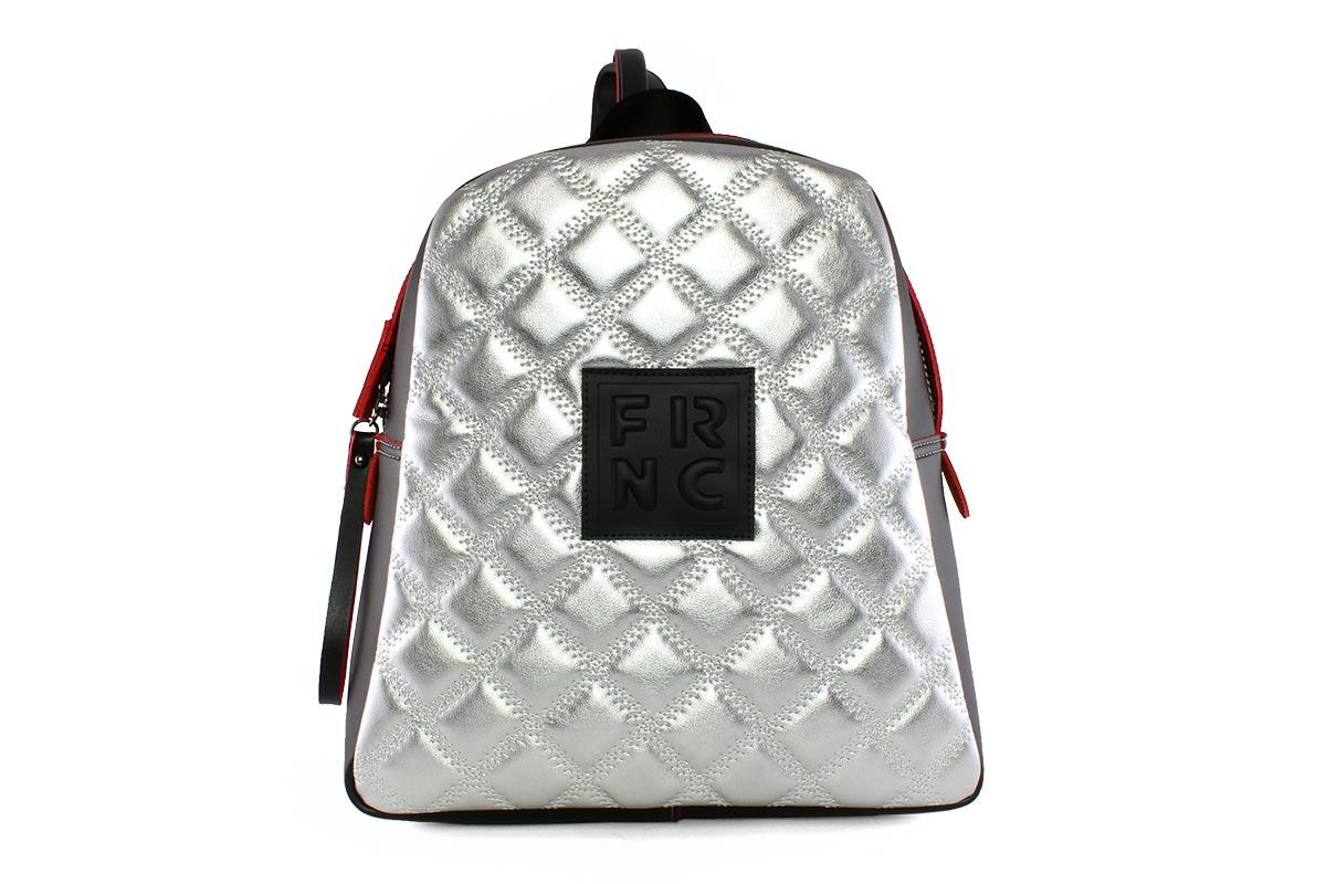6af71faf84 Frnc Γυναικεία Τσάντα Backpack Ασημί 1202Κ - Nero Kaidas