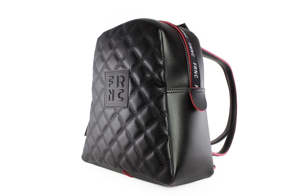 f40990c12c Frnc Γυναικεία Τσάντα Backpack Μαύρη 1202M - Nero Kaidas