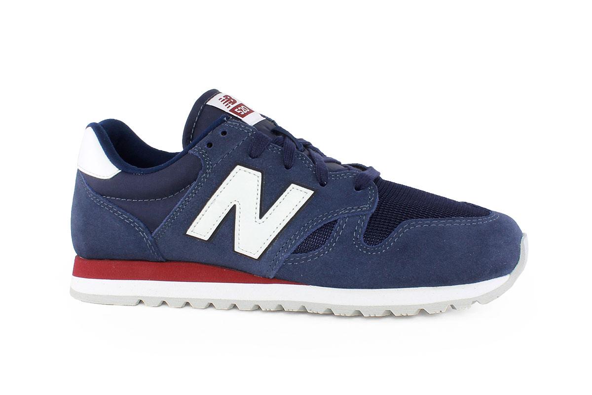 f68dc2c98f New Balance Ανδρικό Δερμάτινο Sneaker Μπλε U520GG - Nero Kaidas