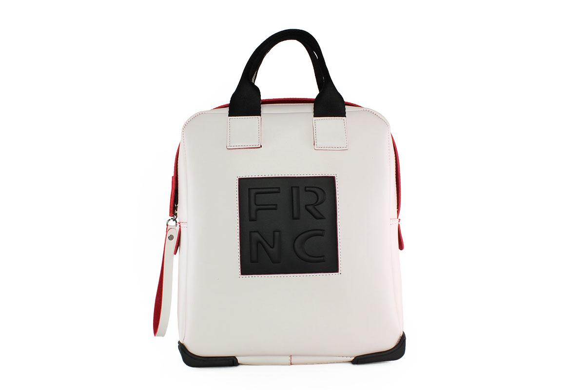 9b08dd9d80 Frnc Γυναικεία Τσάντα Backpack Λευκή 2019L - Nero Kaidas
