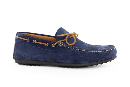 Damiani Ανδρικό Δερμάτινο Loafer Μπλε 851