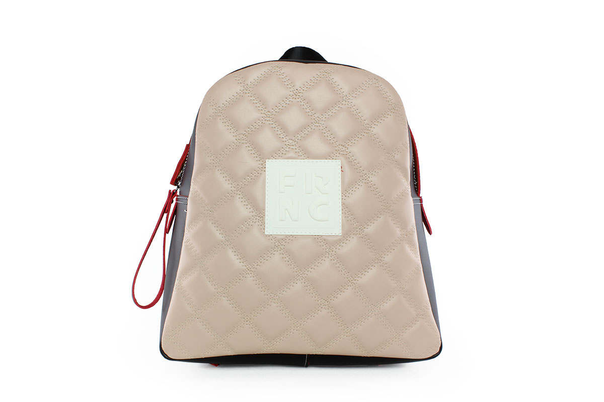 4add0033fa Frnc Γυναικεία Τσάντα Backpack Nude 1202N - Nero Kaidas