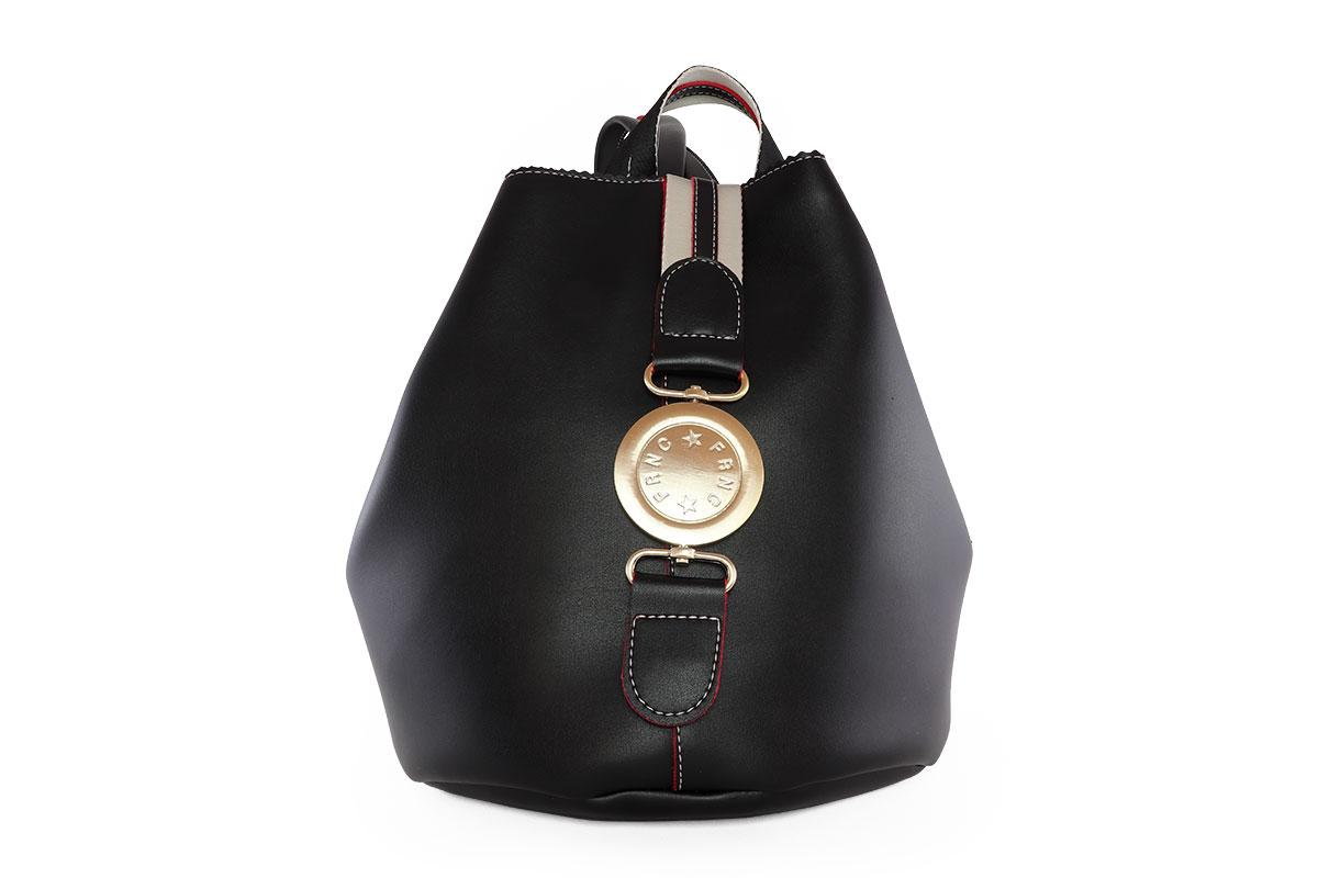1fa4a9f6f4 Frnc Γυναικεία Τσάντα Backpack Μαύρη 562 - Nero Kaidas