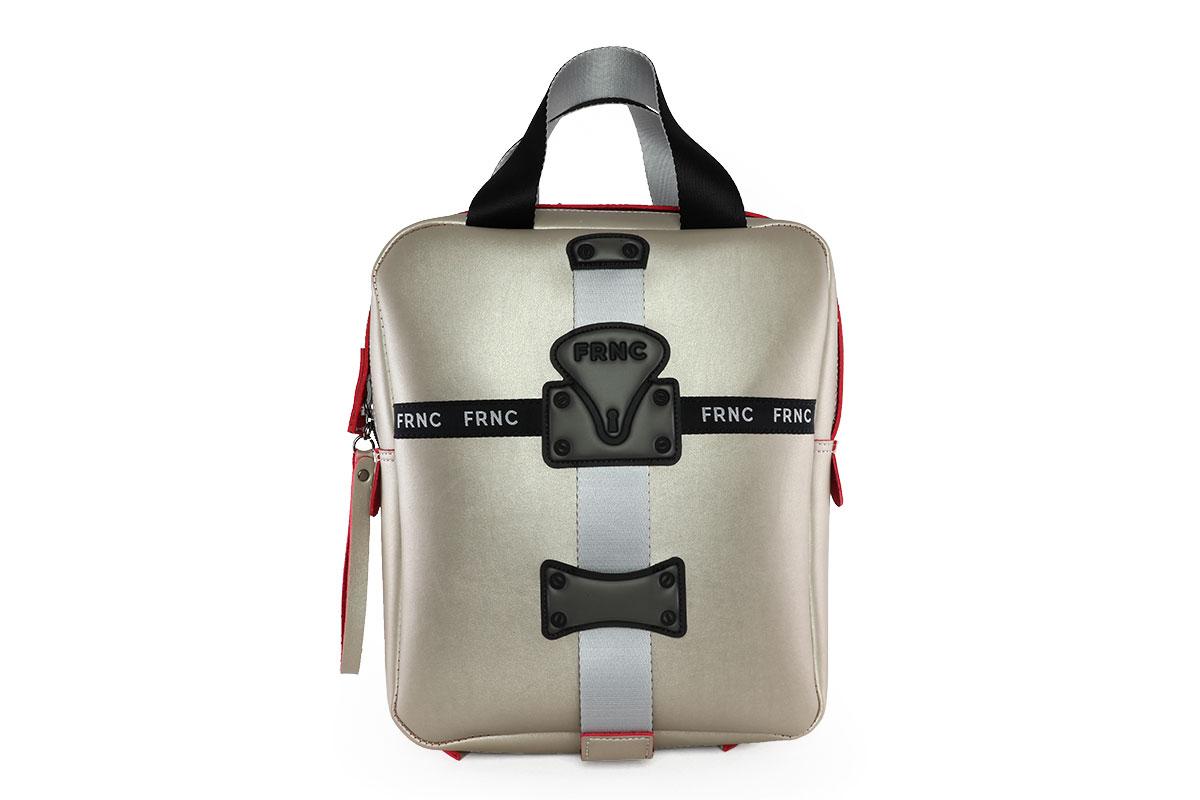 6ba9e7ca84 Frnc Γυναικεία Τσάντα Backpack Πλατίνα 2051 - Nero Kaidas