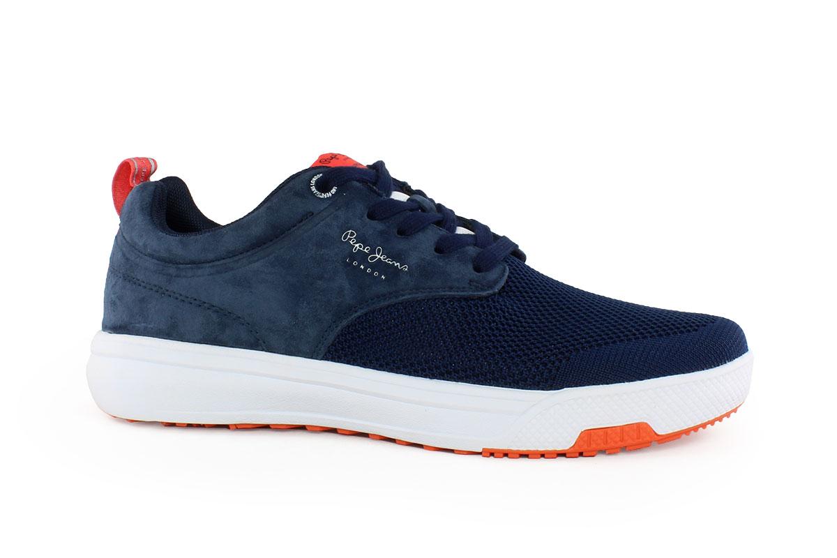 e5936935fca9 Pepe Jeans Ανδρικό Sneaker Μπλε 30526M - Nero Kaidas