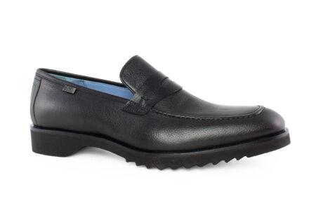 Boss Shoes Ανδρικό Δερμάτινο Loafer Μαύρο L6129M