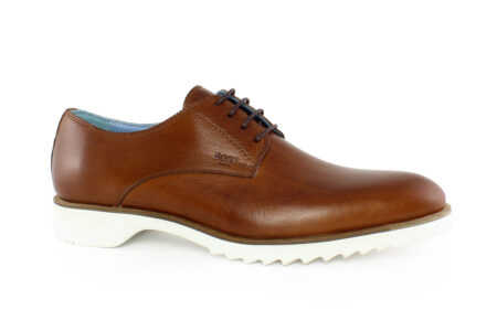 Boss Shoes Ανδρικό Δερμάτινο Oxford Ταμπά L6130ANT