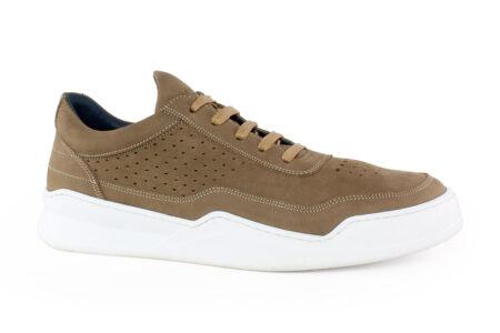 Damiani Ανδρικό Δερμάτινο Sneaker ΜΠΕΖ 951