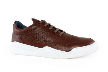 Damiani Ανδρικό Δερμάτινο Sneaker Ταμπά 950T