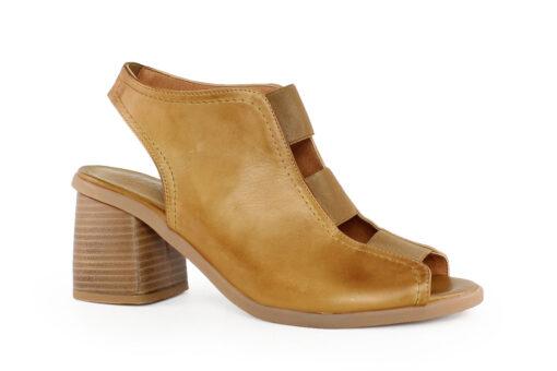 Aneto Comfort Shoes Γυναικείο Δερμάτινο Πέδιλο Ταμπά Κ81Τ