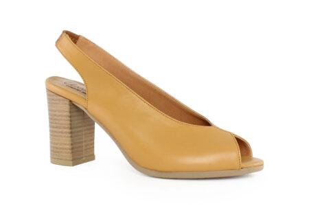 Aneto Comfort Shoes Γυναικείο Δερμάτινο Πέδιλο Ταμπά Κ68