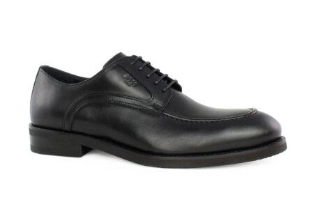Boss Shoes Ανδρικό Δερμάτινο Oxford Μαύρο M6212