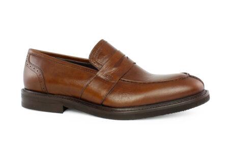 Boss Shoes Ανδρικό Δερμάτινο Loafer Ταμπά M6267T