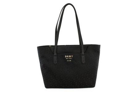 DKNY Γυναικεία Τσάντα Χειρός Μαύρη R92ΑFC35