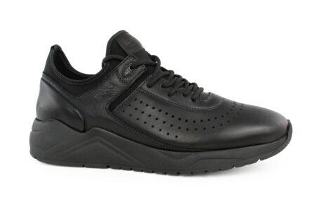 Boss Shoes Ανδρικό Δερμάτινο Sneaker Μαύρο MP141