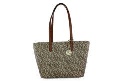 DKNY Γυναικεία Τσάντα Χειρός Μπέζ R74AJ014