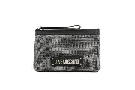 Love Moschino Γυναικεία Τσάντα Χιαστή Μαύρη JC4050PP1ALH100A