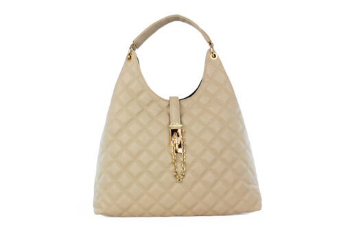 Frnc Γυναικεία Τσάντα Χειρός Μπέζ 12108-BEIGE