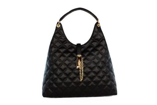 Frnc Γυναικεία Τσάντα Χειρός Μαύρο 12108-MAY