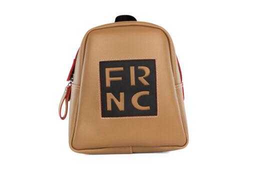 Frnc Γυναικεία Τσάντα Backpack Biscuit Μπεζ 1201-BEIGE
