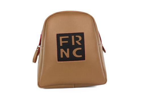 Frnc Γυναικεία Τσάντα Backpack Biscuit Μπεζ 1202-BEIGE