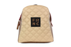 Frnc Γυναικεία Τσάντα Backpack Μπεζ 1202-BEIG