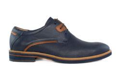 Damiani Ανδρικό Δερμάτινο Oxford Μπλε 1051-BL