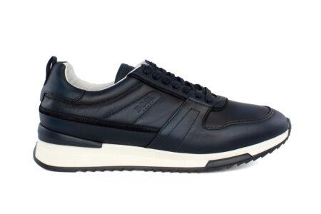Boss Shoes Ανδρικό Δερμάτινο Sneaker Blue NR110-B
