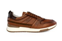 Boss Shoes Ανδρικό Δερμάτινο Sneaker Cognac Burn NR110-C