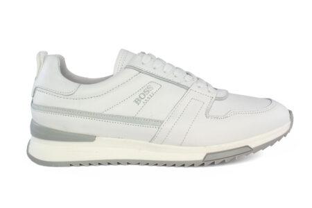 Boss Shoes Ανδρικό Δερμάτινο Sneaker White Top NR110