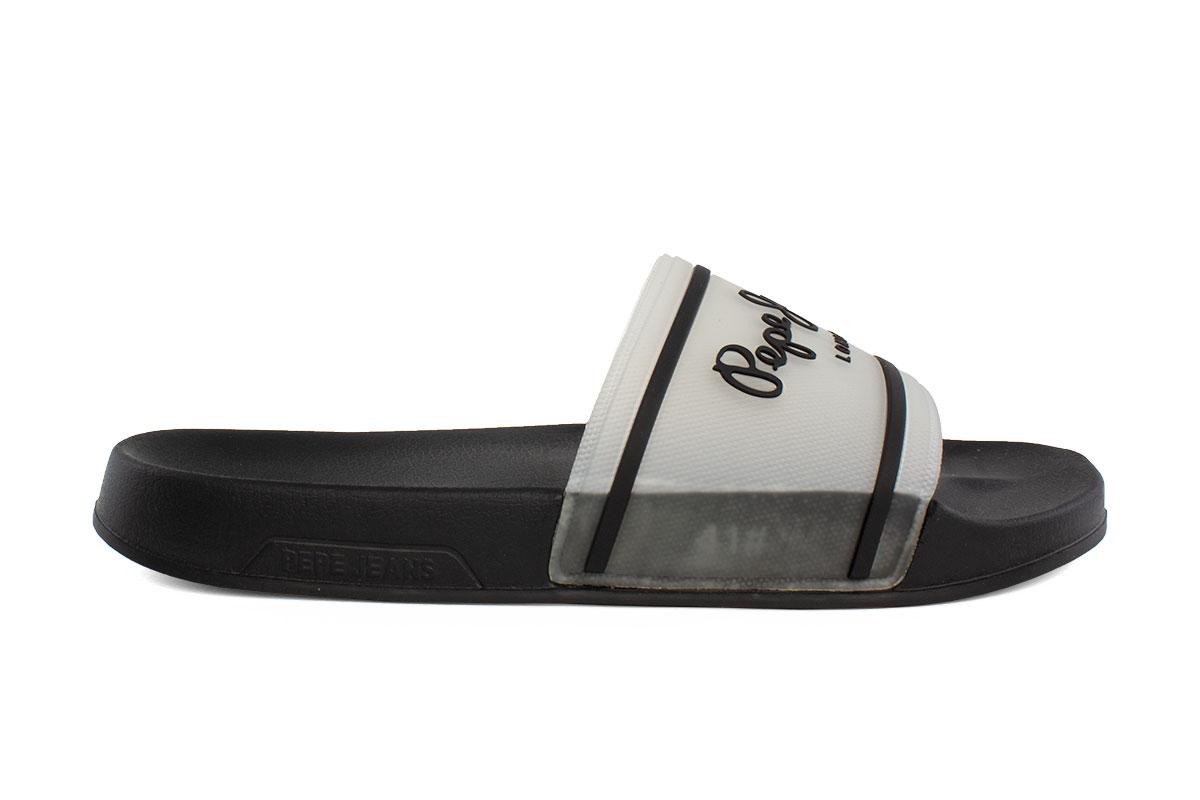 Pepe Jeans Ανδρικο Slider Translucent White PMS70080-800