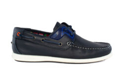 Boss Shoes Ανδρικό Δερμάτινο Boat Μπλε N09130BL