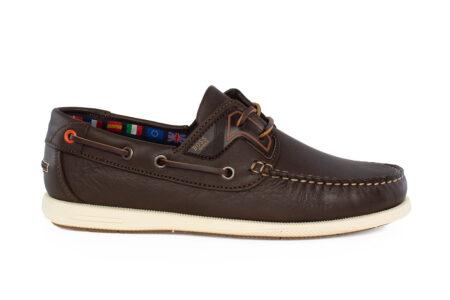 Boss Shoes Ανδρικό Δερμάτινο Boat Καφέ N09130
