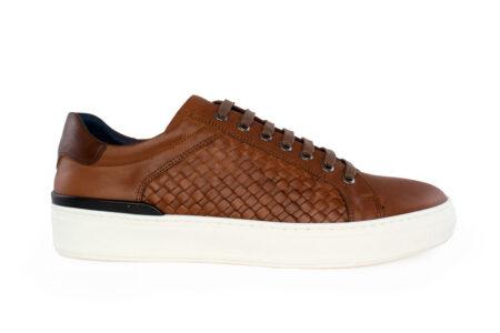 Damiani Ανδρικό Δερμάτινο Sneaker Ταμπά 2650-TA