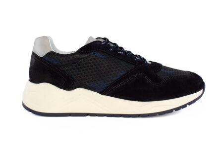Boss Shoes Ανδρικό Δερμάτινο Sneaker Μπλε NP230